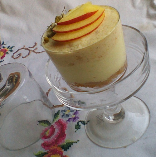 Peach chamomille mousse cakes re-cake #10 | Ricetta ed ingredienti dei ...
