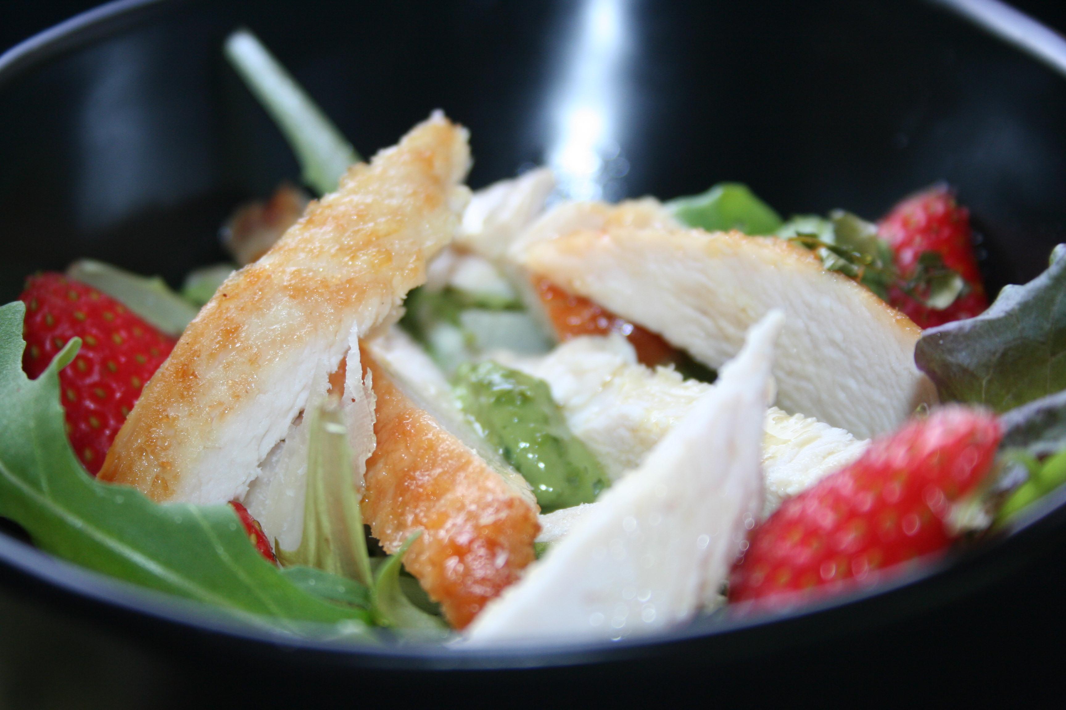 La mia insalata di Pollo per il Club del 27