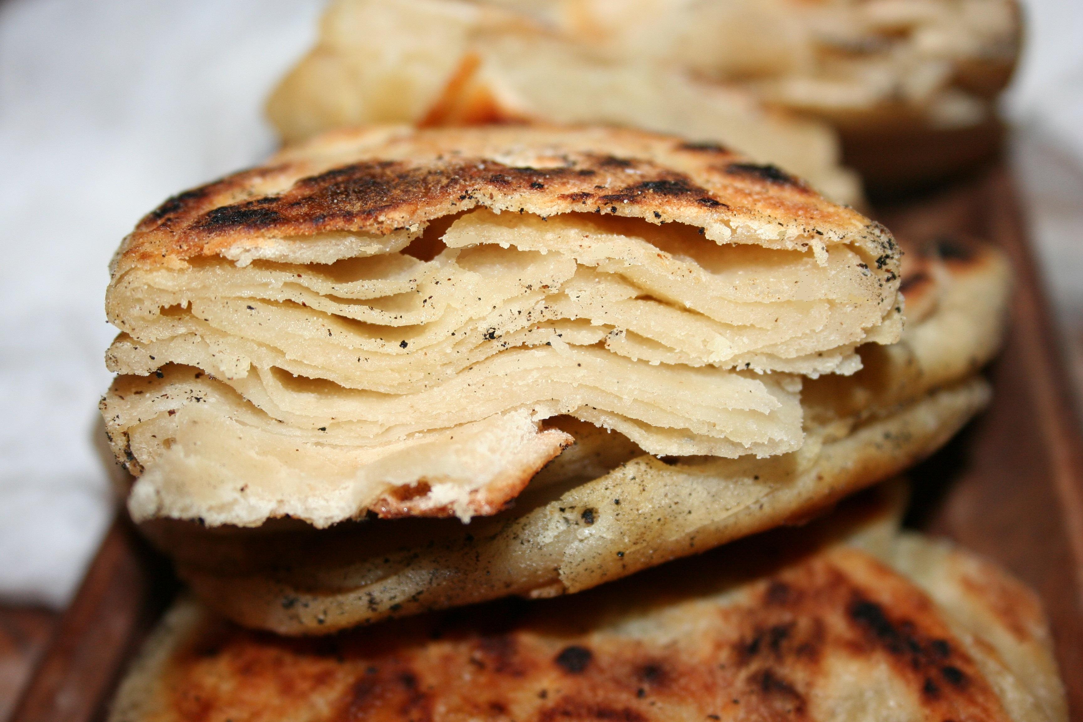 Il pane cinese o lao-bing