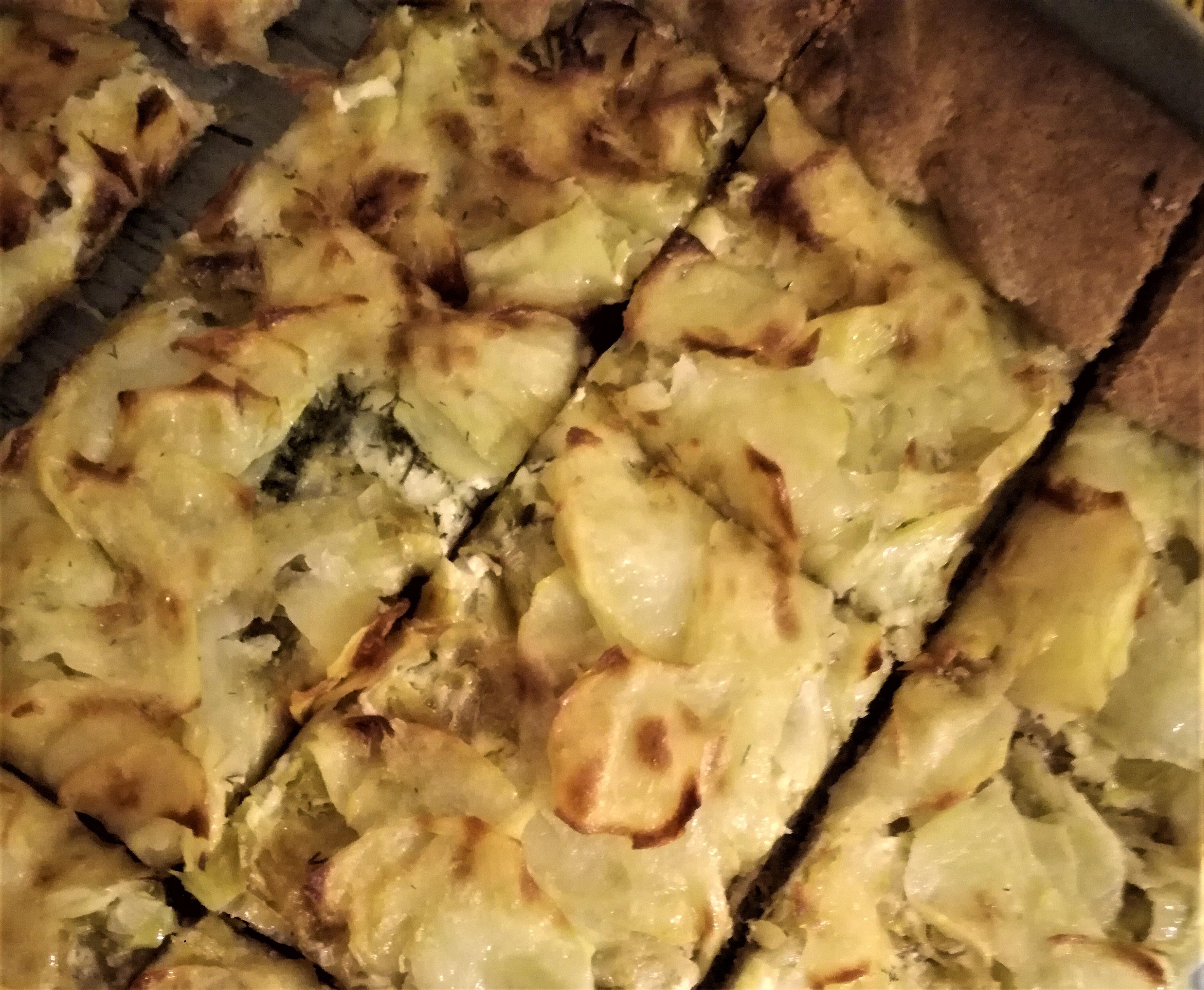 Galletta di porri e patate per Recake nuova stagione