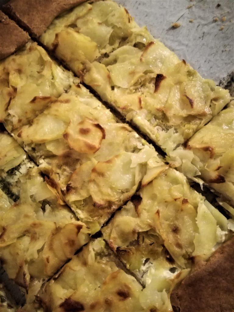 galletta porri e patate