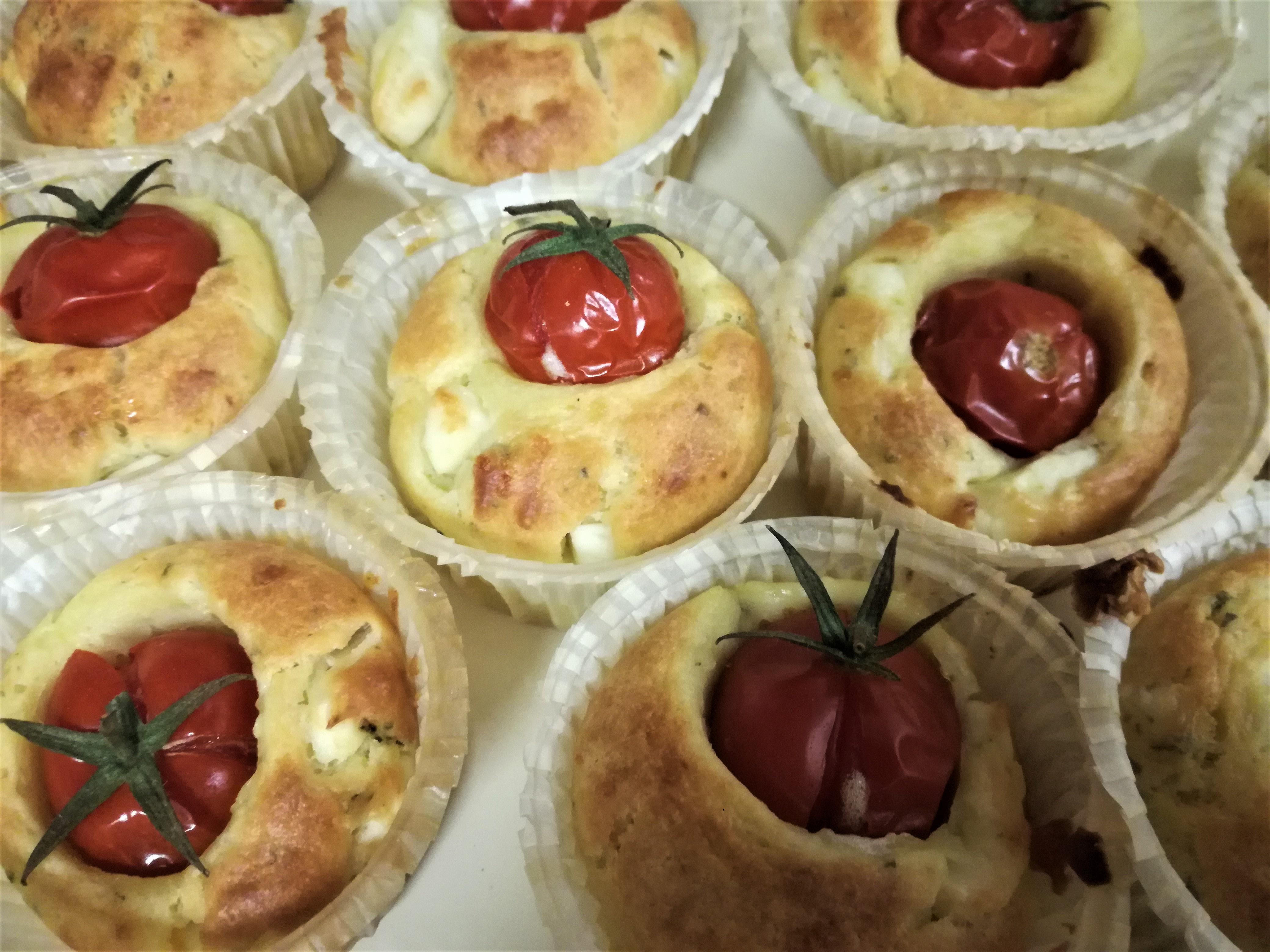 Muffin ai pomodorini