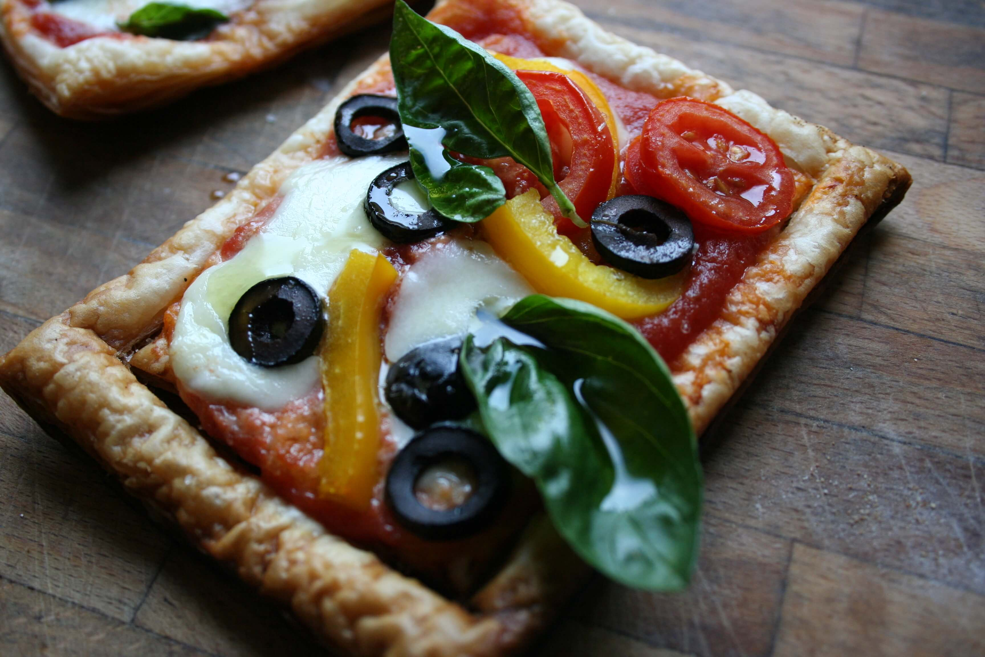 Pizzetta di pasta sfoglia